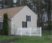 Vinyl 2x3 Picket Fence - Bridgewater, MA