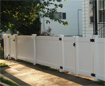 Vinyl 4ft high Solid Fence - Brighton, MA